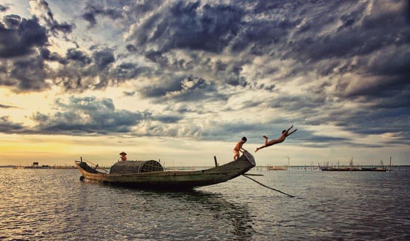 Cuộc sống của người dân làng chài Phá Tam Giang