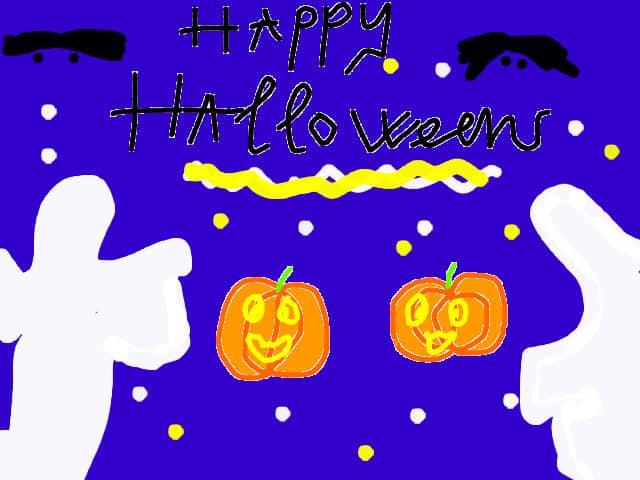 Những bức tranh về hallowen là món quà ý nghĩa và thực thế