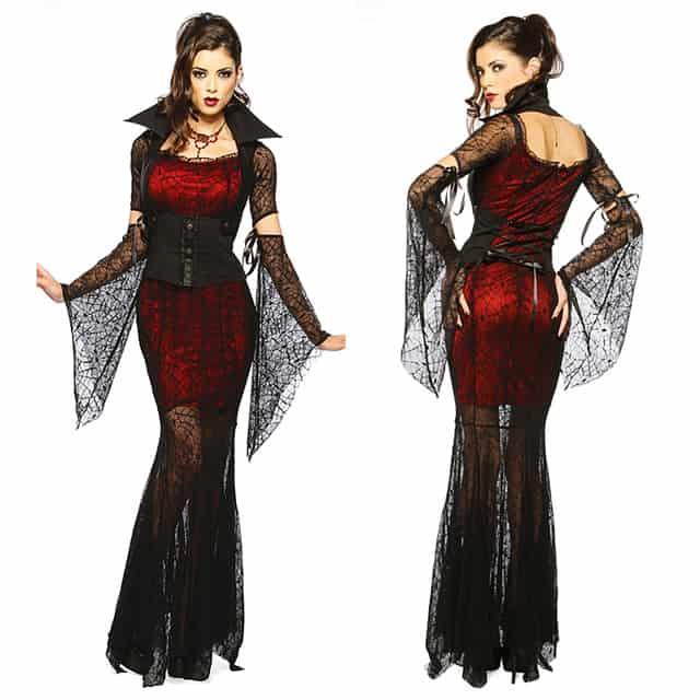 halloween ấn tượng với trang phục bó sát