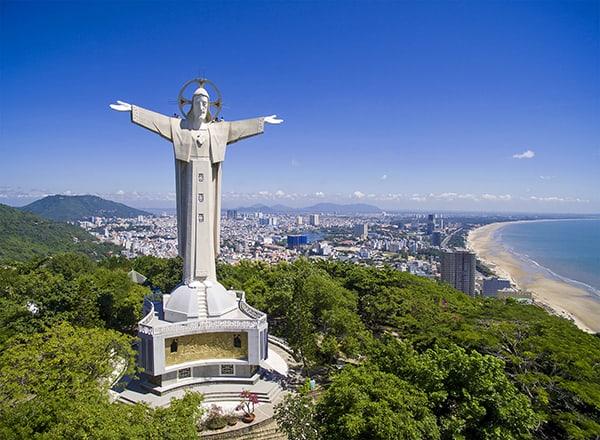 Tượng Chúa Kitô - Một biểu tưởng của thành phố Vũng Tàu