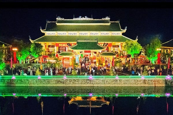 Celebration of 300 years of building a temple
