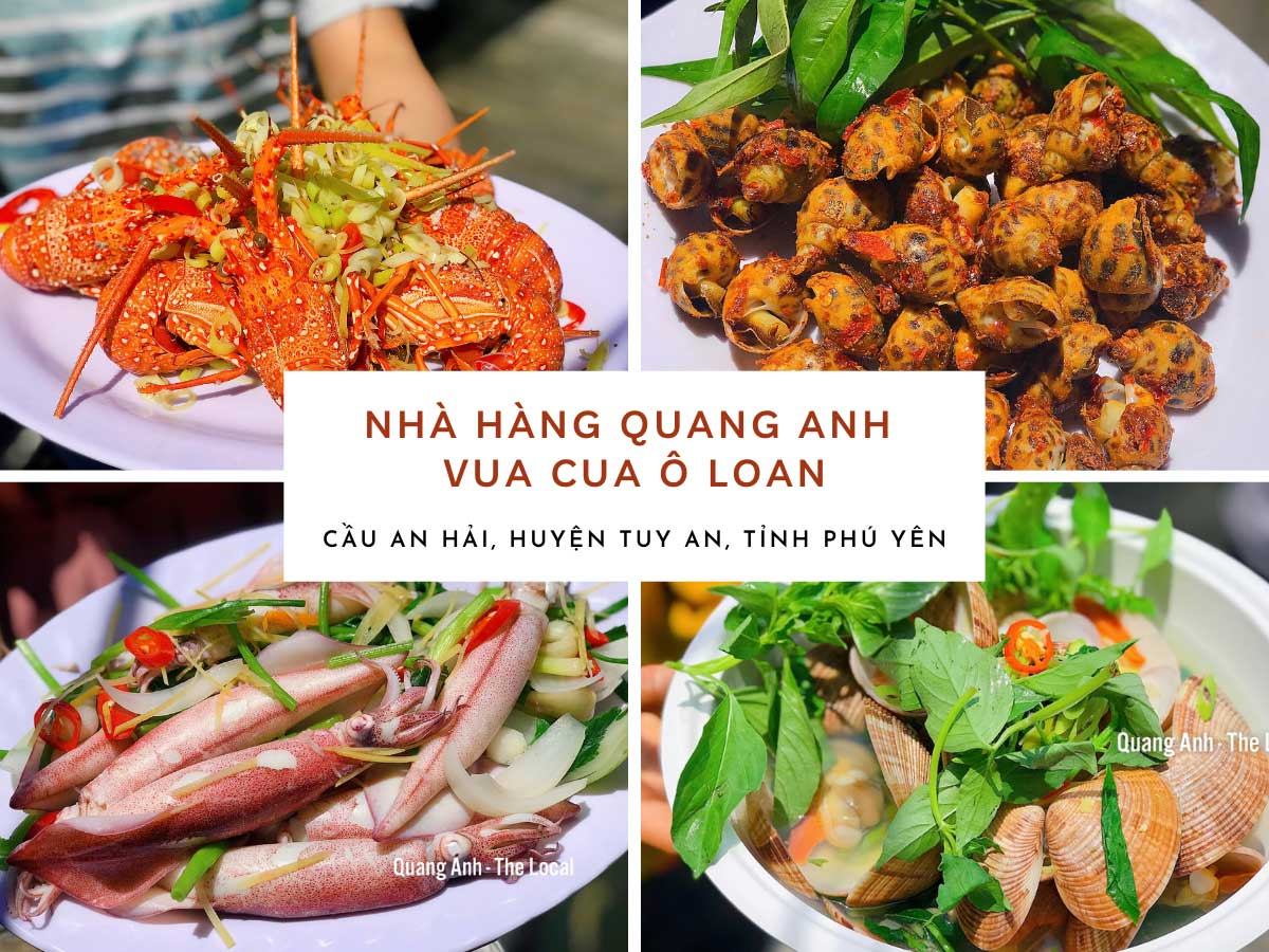 Nhà hàng hải sản Quang Anh - Vua cua Ô Loan