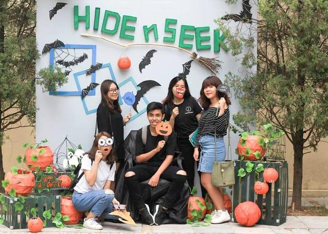 Các bạn trẻ vui Halloween tại các khu vui chơi ở Vũng Tàu