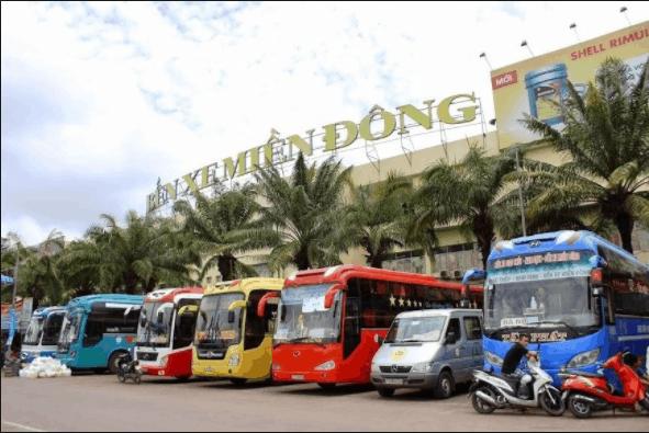Xe ô tô khách từ TP. Hồ Chí Minh