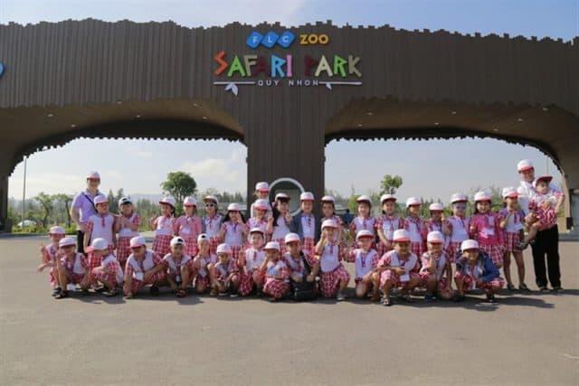 Zoo Safari Park là môi trường tuyệt vời cho các em nhỏ trải nghiệm, tham quan công viên