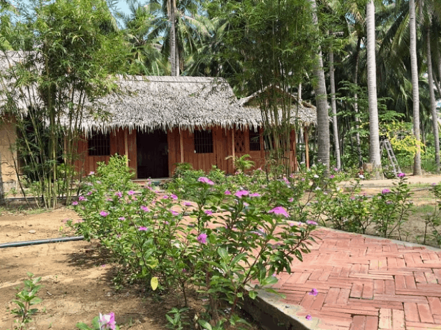 khu du lịch làng bè bến tre