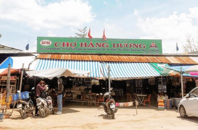 Chợ Hàm Dương - Cần Giờ