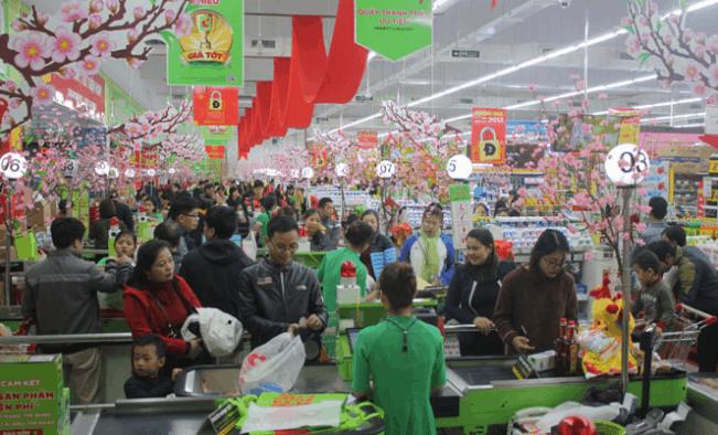 Các trung tâm mua sắm là địa điểm vui chơi lý tưởng những ngày tết