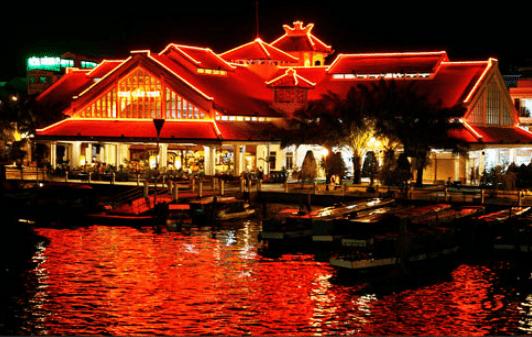 Vẻ đẹp của Bến Ninh Kiều (Ảnh ST)