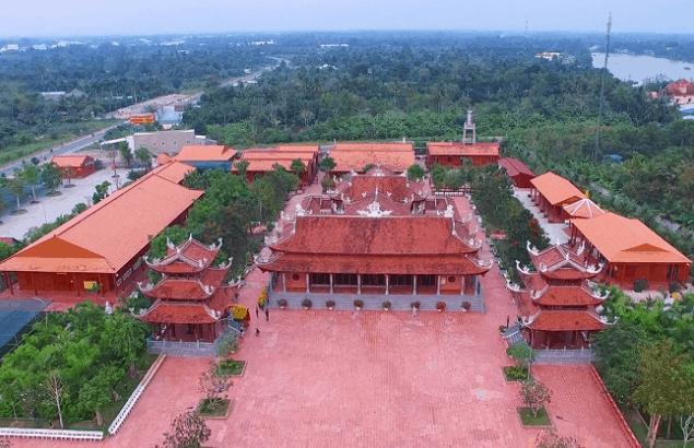 Toàn cảnh Thiền Viện Trúc Lâm phương Nam (Ảnh ST)