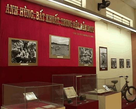 Hiện vật chiến tranh ở bảo tàng Cần Thơ (Ảnh ST)