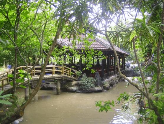 Khung cảnh của vườn sinh thái Lê Lộc (Ảnh ST)
