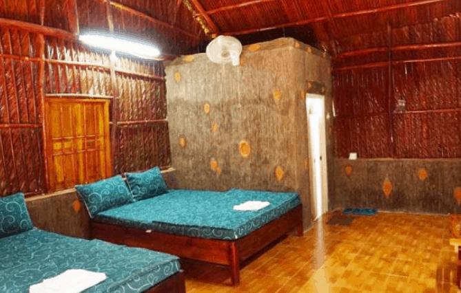 Phòng nghỉ trong homestay (Ảnh ST)