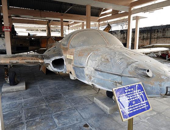 Hiện vật ở trong bảo tàng quân khu 9 (Ảnh ST)