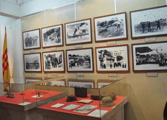 Bên trong của bảo tàng quân khu 9 (Ảnh ST)