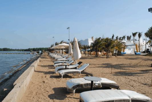 Thư giãn ở biển Cần Thơ (Ảnh ST)