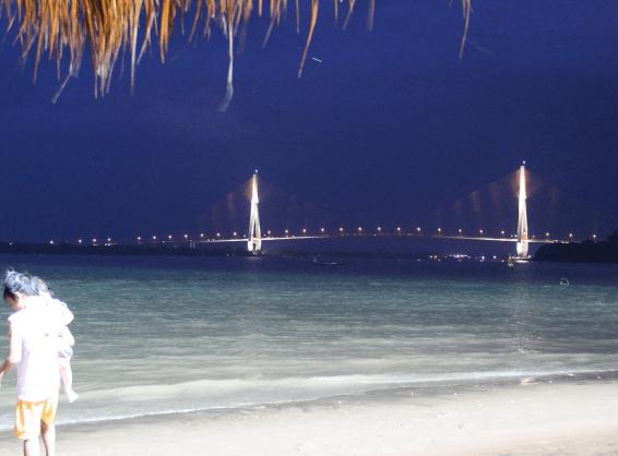 Vẻ đẹp ở biển Cần Thơ về đêm(Ảnh ST)