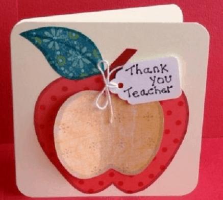 Thiệp handmade tặng thầy cô 20-11 (Ảnh ST)