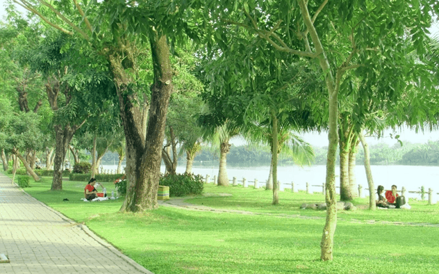 Công viên Panorama là địa điểm dã ngoại cuối tuần hấp dẫn