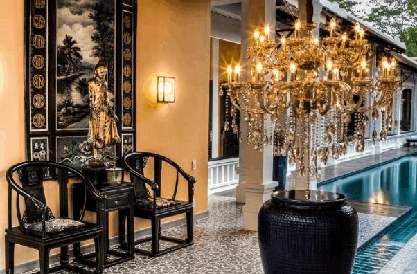 Khu resort được thiết kế theo phong cách cổ kính, sang trọng