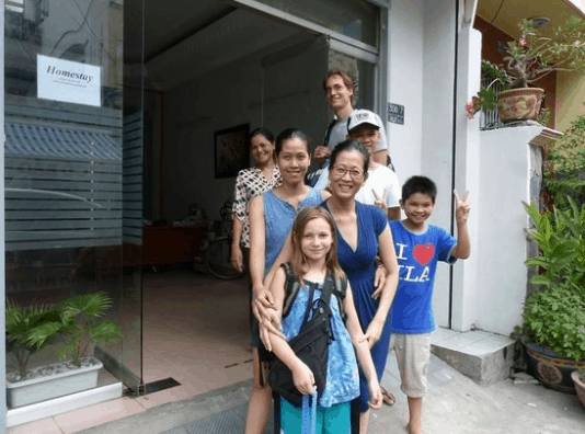 Ms.Yang Homestay được nhiều du khách nước ngoài lựa chọn