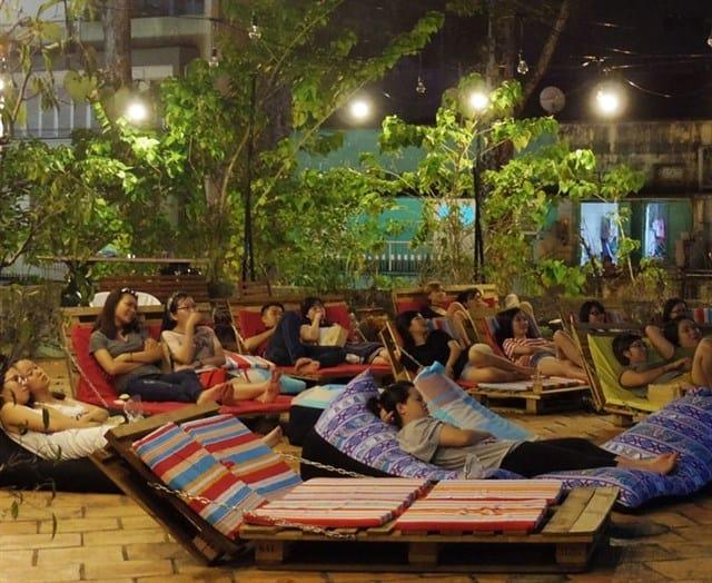 Rạp chiếu phim ngoài trời Cineb SaiGon