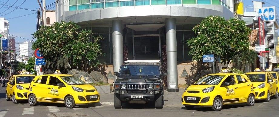 Taxi Asia (Taxi Vàng Asia). (Ảnh ST)