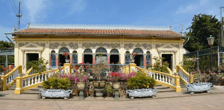 Nhà cổ Bình Thủy (Ảnh ST)