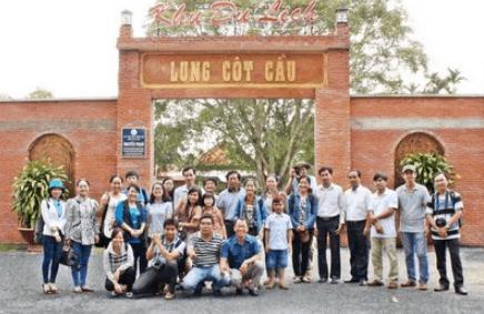 Khu du lịch sinh thái Lung Cột Lầu (Ảnh ST)