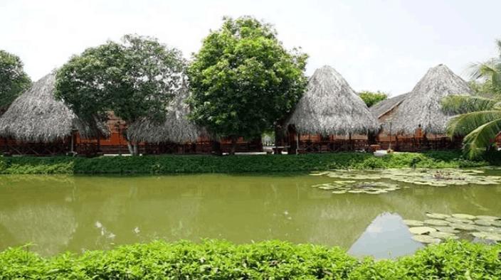 Vẻ đẹp yên bình ở vườn sinh thái Bảo Gia Trang Viên (Ảnh ST)