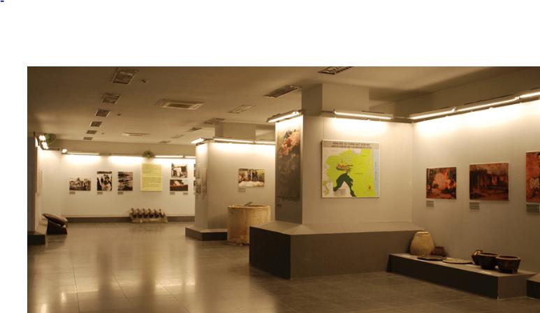 Hình ảnh của bảo tàng quân khu 9 (Ảnh ST)