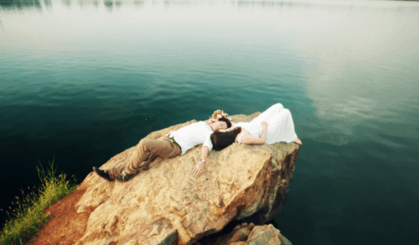 Unique wedding photos taken at Ho Da
