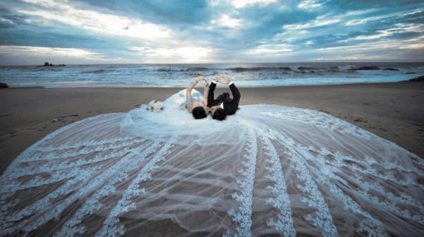 Ảnh cưới tuyệt đẹp tại hồ Cốc