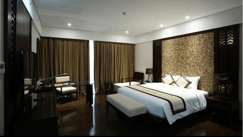 Phòng ngủ đầy đủ trang thiết bị và thiết kế hiện đại
