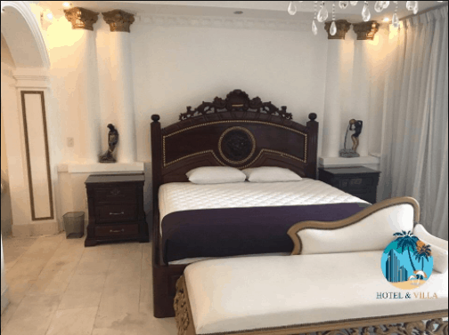Phòng ngủ đem đến giấc ngủ thoải mái nhất cho du khách