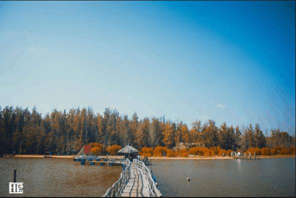 Hồ Tràm - Hồ Cốc khung cảnh thơ mộng