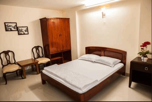 Phòng ngủ đơn giản mà ấm áp