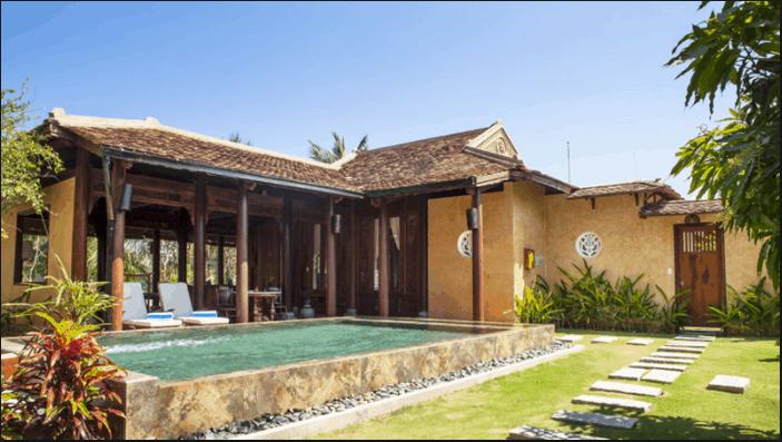 Hồ Tràm Beach Resort & Spa có phong cách thiết kế cổ xưa kế hợp hiện đại