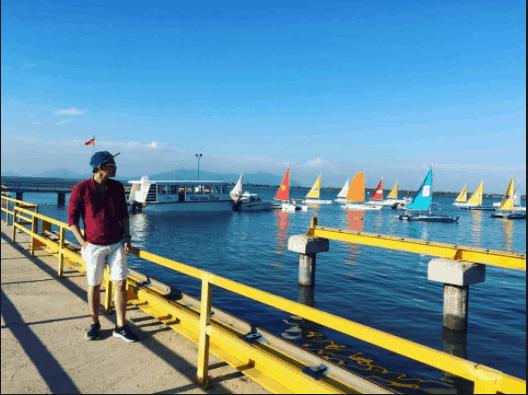 Bến du thuyền là địa điểm check-in cực lung linh cho các bạn trẻ