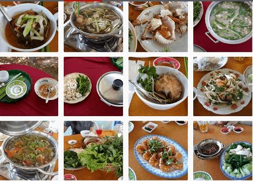 Những nhà hàng phục vụ nhiều món ngon chế biến từ hải sản