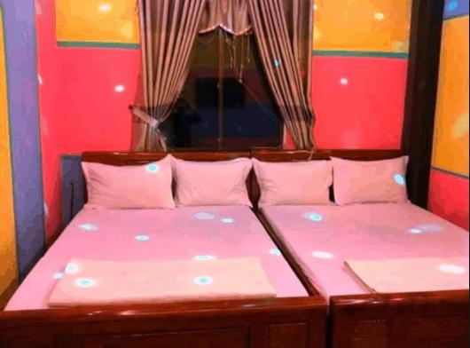 Phòng ngủ được thiết kế kèm theo karaoke