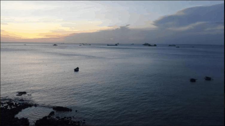 Đứng từ ban công biệt thự có thể ngắm cảnh biển Vũng Tàu