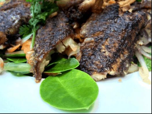Thịt cá thòi lòi sau khi chế biến thịt ngon ngọt