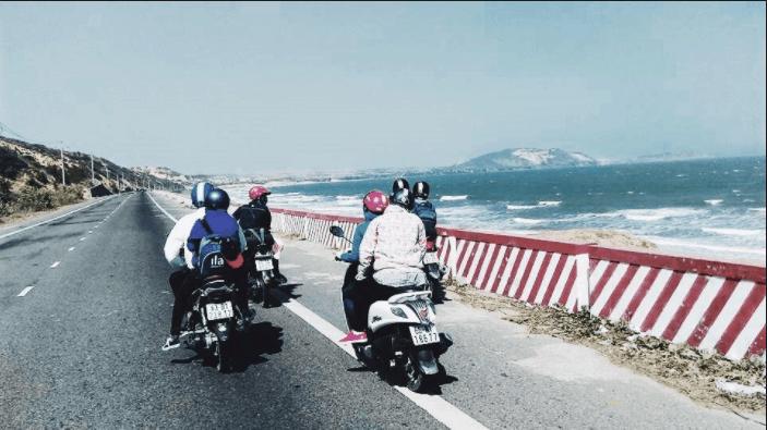 Đường phượt xe máy đến Vũng Tàu cực đẹp