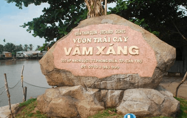 Khu du lịch Vàm Xáng - địa điểm tham quan nổi tiếng ở Cần Thơ (Ảnh ST)