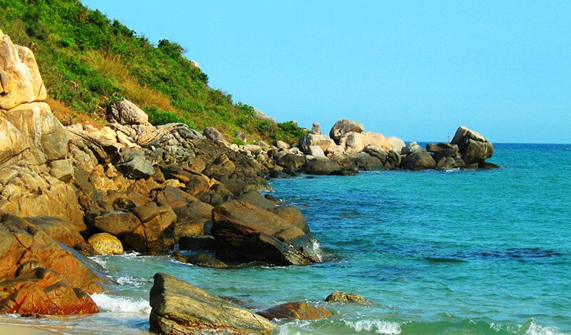 Một góc nhỏ trên Biển Sa Huỳnh. (Ảnh ST)