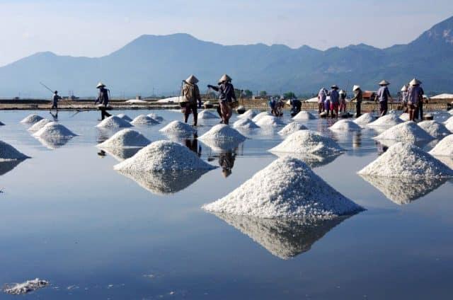 Ruộng muối Sa Huỳnh (Ảnh sưu tầm)