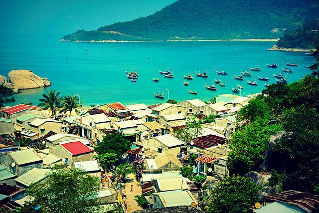 Vẻ đẹp của bãi biển Cù Lao Chàm. (Ảnh ST)
