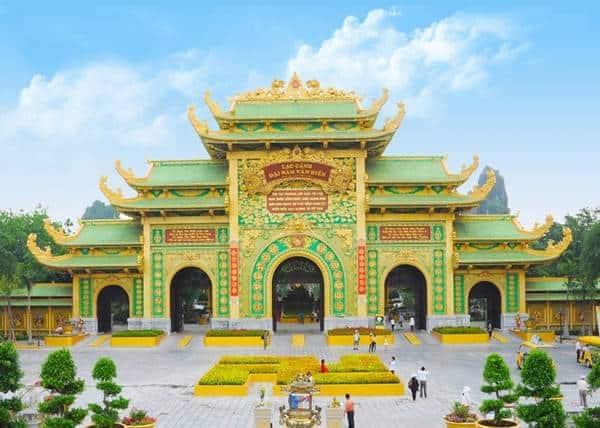 Ngôi đền Đại Nam quy mô ấn tượng