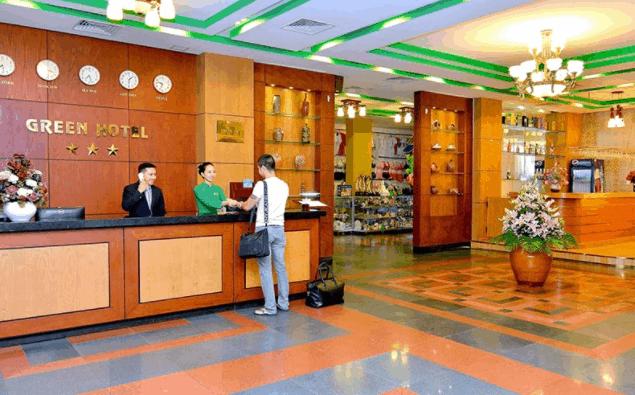 Đại sảnh khách sạn Green Vũng Tàu